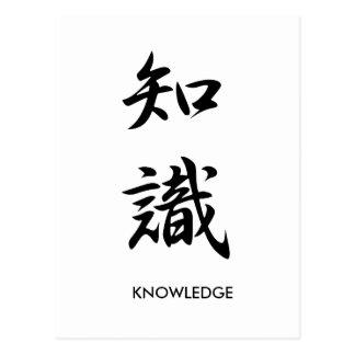 Conocimiento - Chishiki Postales
