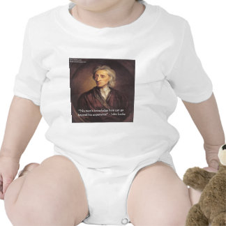 Conocimiento de John Locke/cita de la experiencia Camiseta