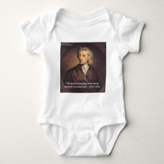 Conocimiento de John Locke/cita de la experiencia Camisetas