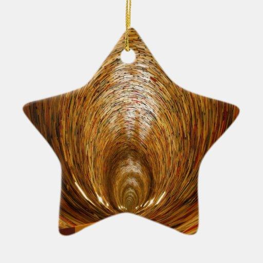 conocimiento del libro y aprendizaje sin fin ornaments para arbol de navidad