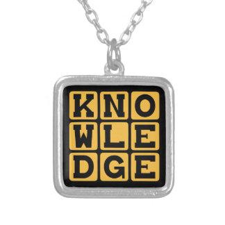 Conocimiento, sabiduría educada grimpola personalizada