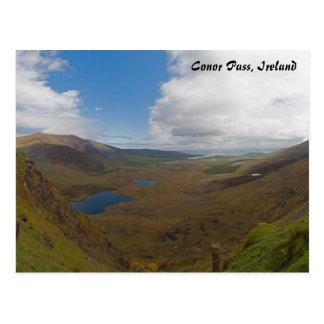 Conor Pass, Ireland Postcard