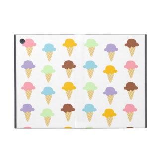 Conos de helado coloridos iPad mini fundas