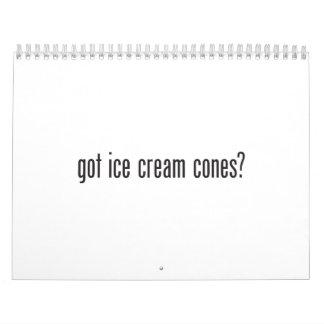 conos de helado conseguidos calendario