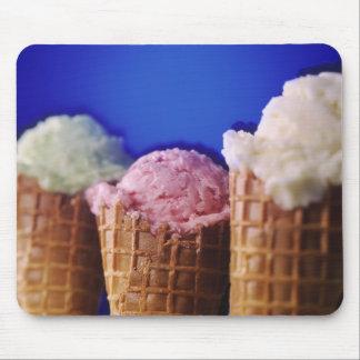 Conos de helado Mousepad Tapete De Raton