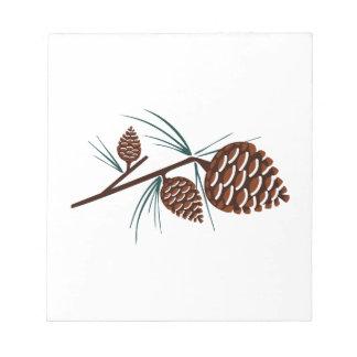 Conos del pino bloc