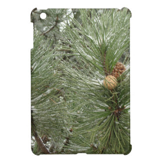 Conos del pino Nevado iPad Mini Coberturas
