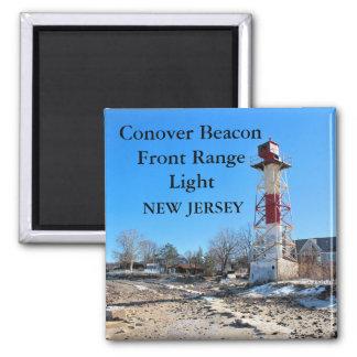 Conover Beacon Front Range Light, NJ Magnet