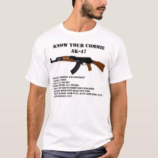 Conozca a su Commie AK-47 Playera
