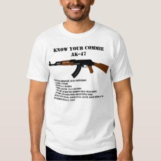 Conozca a su Commie AK-47 Polera