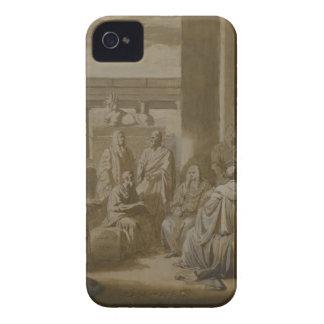 Conozca a Thy uno mismo de Benjamin al oeste iPhone 4 Case-Mate Protector