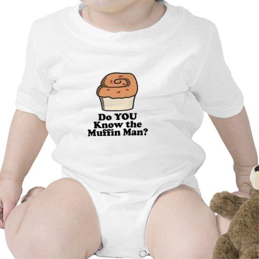 conozca al hombre de mollete traje de bebé