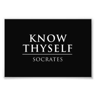 Conozca Thyself - Sócrates Cojinete