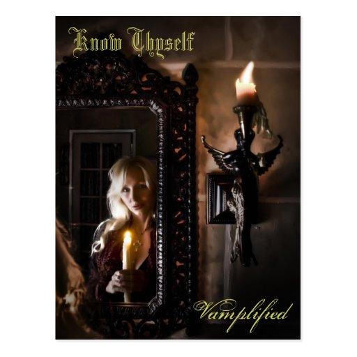 Conozca Thyself Vamplified Postales