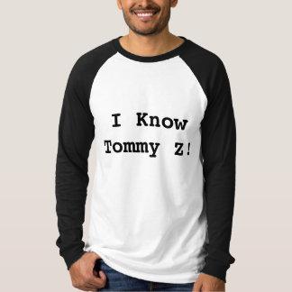 ¡Conozco a Tommy Z! Remeras