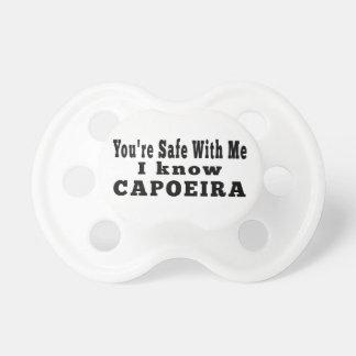 Conozco Capoeira Chupete De Bebe