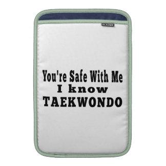 Conozco el Taekwondo Funda MacBook