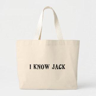 Conozco Jack Bolsa Tela Grande