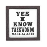 Conozco sí el Taekwondo