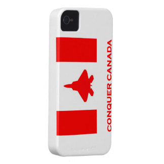 Conquer Canada iPhone 4/4s case