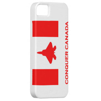 Conquer Canada iPhone 5 case