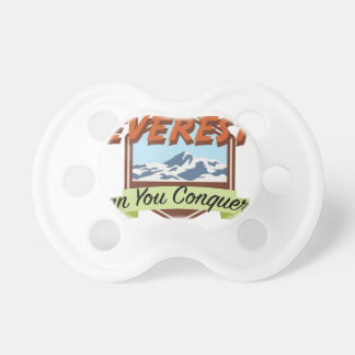 Conquer Everest Pacifier