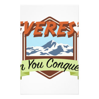 Conquer Everest Stationery