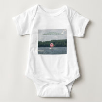 Conquer Fear Baby Bodysuit