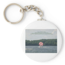 Conquer Fear Keychain