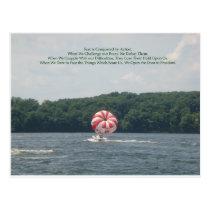 Conquer Fear Postcard