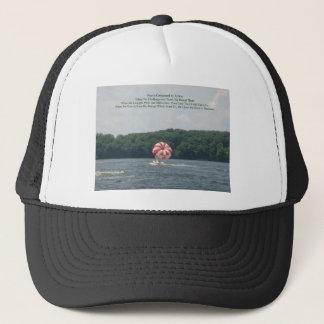 Conquer Fear Trucker Hat