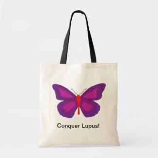 Conquer Lupus Tote Bag