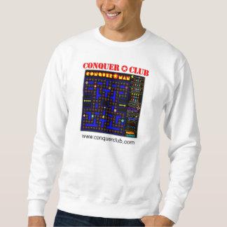 Conquer Man Map Pullover Sweatshirts