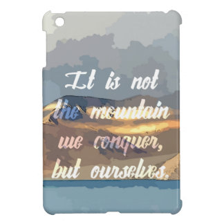 Conquer Ourself iPad Mini Cases