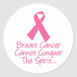 Conquer The Spirit Stickers