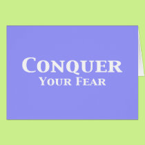 Conquer Your Fear Gifts Card