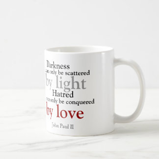 Conquered by Love mug
