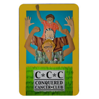 Conquered Cancer Magnet