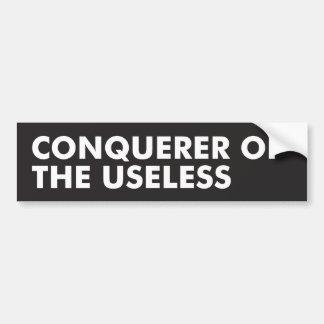 Conquerer Bumper Sticker