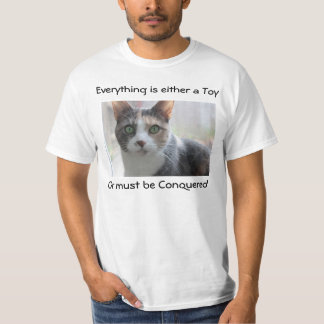 Conquering Cat T-shirt