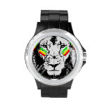 Conquering Lion Rasta Watch