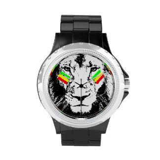 Conquering Lion Rasta Watch