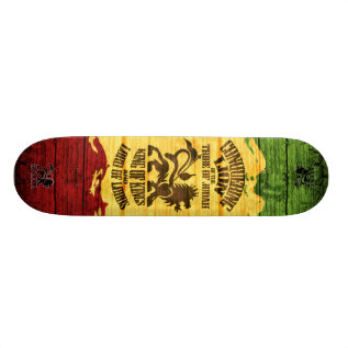 Conquering Lion Skateboard_pro (3) Skateboard at Zazzle