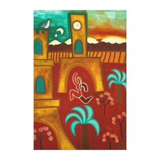 Conquering the Castle 2010 Canvas Print