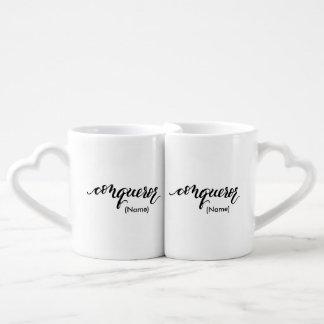 Conqueror Custom Coffee Mug Set