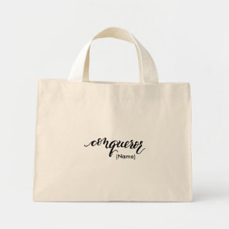Conqueror Custom Mini Tote Bag