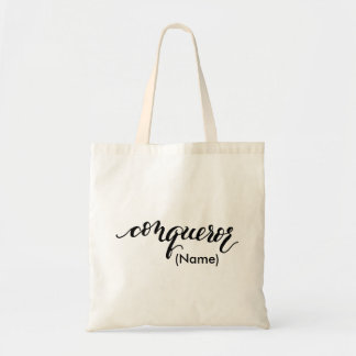 Conqueror Custom Tote Bag