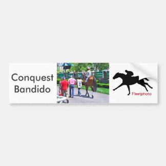 Conquest Bandido Bumper Sticker