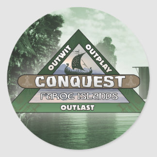 Conquest: Faroe Islands Logo Sticker