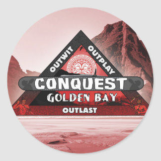Conquest: Golden Bay Logo Sticker